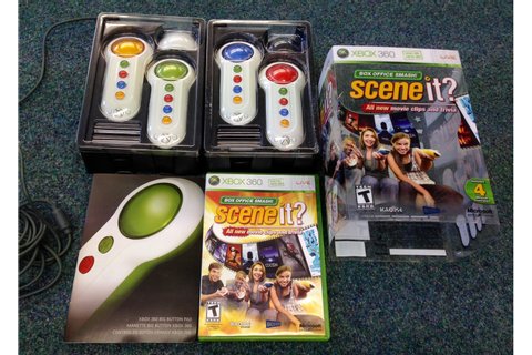 Consoles :: XBox 360 :: XBox 360 Games :: Scene It? Box ...