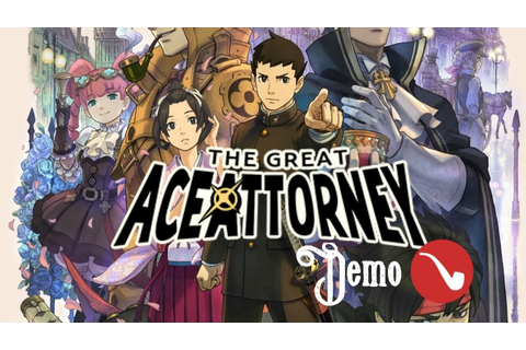 The Great Ace Attorney (Dai Gyakuten Saiban - DGS ...