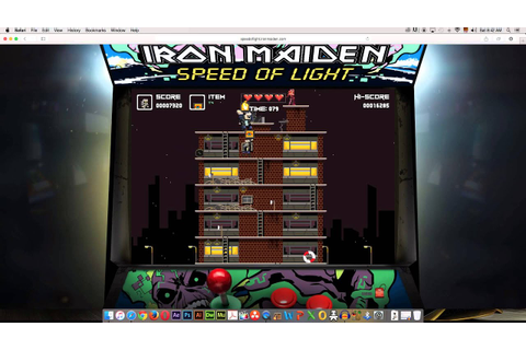 Iron Maiden Speed Of Light Game (21520 Score) Final ...
