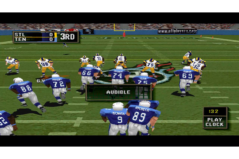 Madden NFL 2000 PS1 Gameplay HD - YouTube