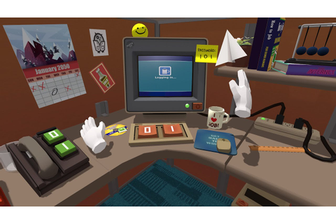 Job Simulator: Making VR Games for Oculus Touch and HTC ...