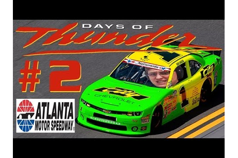Days Of Thunder #2: Worst Racing Game EVAR (Atlanta) - YouTube