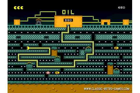 Download Oil's Well (Tubopac) & Play Free | Classic Retro ...