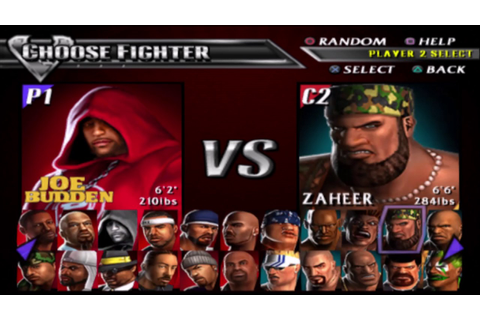 Def Jam Vendetta - Joe Budden VS Sketch (Requested) - YouTube