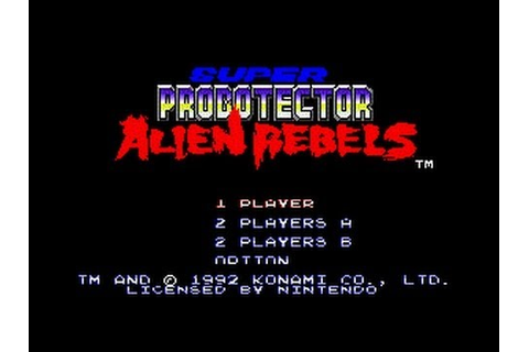Super Probotector: Alien Rebels (SNES) - Complete ...