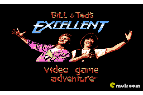 Денди игры » Bill & Ted's Excellent Video Game Adventure ...