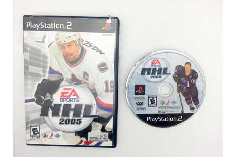 NHL 2005 game for Sony Playstation 2 PS2 -Game & Case ...