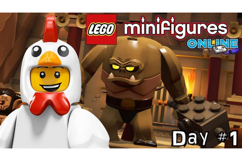LEGO Minifigures Online Diary #1 - Getting Started ...