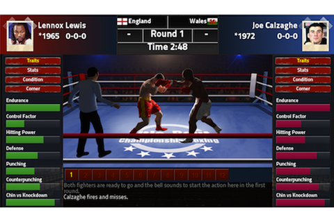 Title Bout Championship Boxing 2013 is a no-frills ...