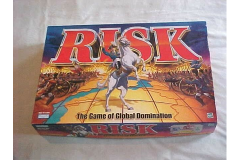 RISK War Board Game of Global Domination Parker Brothers ...