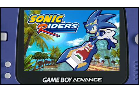 Sonic Riders Was Planned For Game Boy Advance! - YouTube