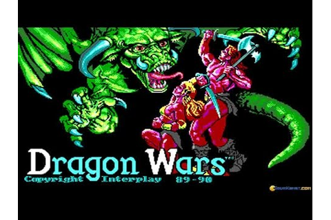 Dragon Wars gameplay (PC Game, 1989) - YouTube