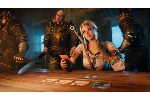 GWENT: The Witcher Card Game – Trailer Novo - YouTube