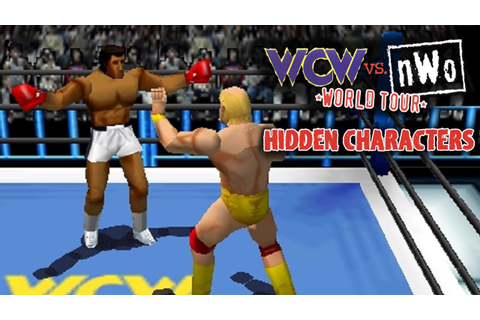WCW vs nWo World Tour - Hidden Characters - YouTube