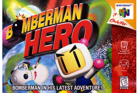 Bomberman Hero Nintendo 64 Game