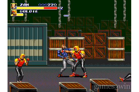 Streets of Rage 3 Download on Games4Win