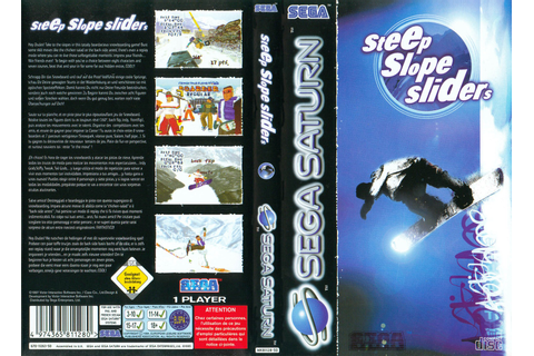 Sega Saturn S Steep Slope Sliders E Game Covers Box Scans ...