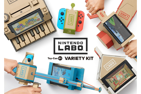Nintendo Labo adds a new dimension to the Switch console ...