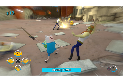 Adventure Time Finn and Jake Investigations Xbox 360 Game ...