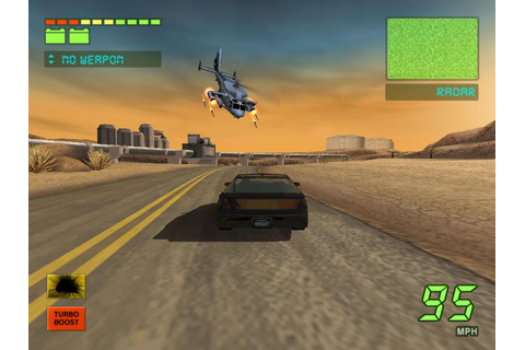 Knight Rider 2: The Game Download (2004 Arcade action Game)