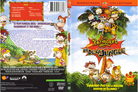 Jaquette DVD de Les Razmoket rencontrent les Delajungle ...