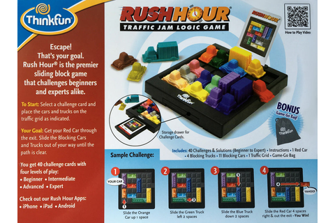 ThinkFun – Rush Hour Game – The Coffee Apple