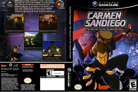 G3DE6L - Carmen Sandiego: The Secret of the Stolen Drums