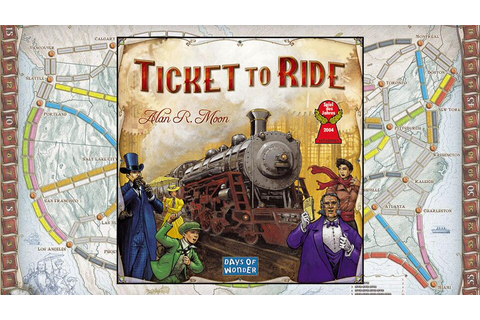 Ticket to Ride Board Game | DudeIWantThat.com
