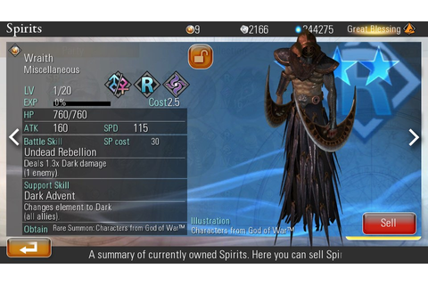 Wraith | Destiny of Spirits Wiki | FANDOM powered by Wikia
