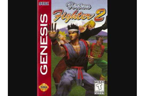 Virtua Fighter 2, Sega Genesis Theme [Opening, Player ...