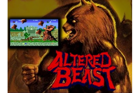 Altered Beast Arcade Co op Playthrough 2 Players Longplay ...