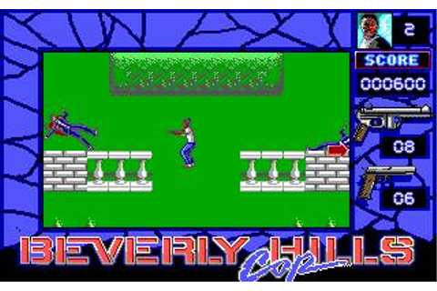 Beverly Hills Cop Download (1990 Arcade action Game)