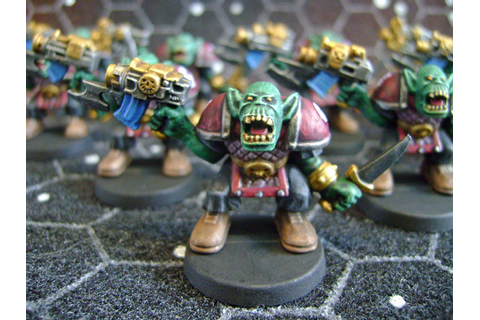 Space Crusade Orks | Si's Soldiers