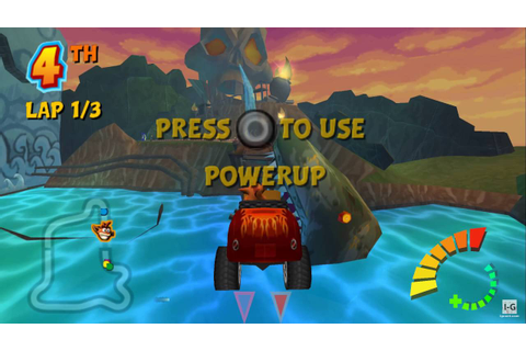 Crash Tag Team Racing PSP Gameplay HD - YouTube