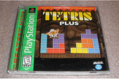 Ps1 Tetris Plus video game complete TESTED 32264500057 | eBay