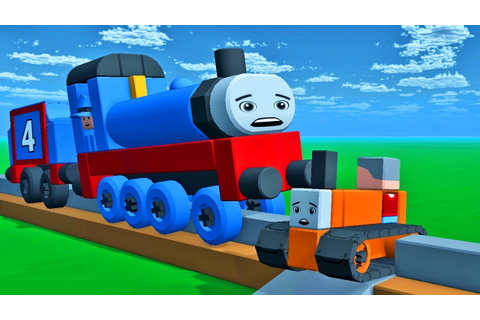 Little Thomas & Friends Trains Blocksworld Game For Kids ...