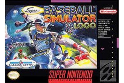 Super Baseball Simulator 1.000 - Wikipedia