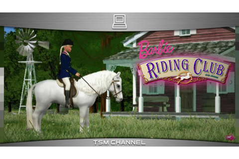 Barbie Riding Club (part 6) (Horse Game) - YouTube