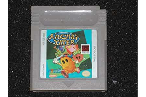 Amazon.com: Game Boy Amazing Tater video game for Nintendo ...