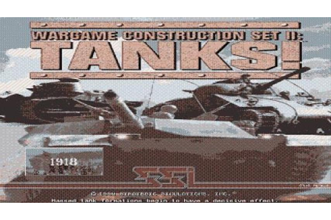 Wargame Construction Set 2: Tanks! gameplay (PC Game, 1994 ...