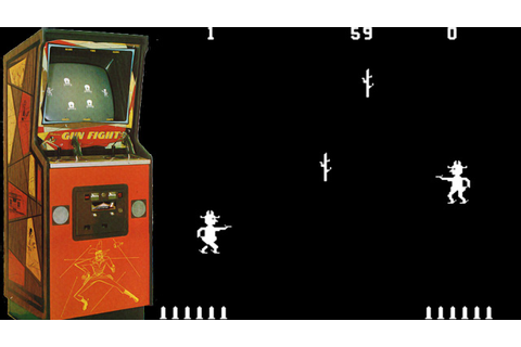 Video Game Firsts - Western Gun / Gun Fight - Warped ...