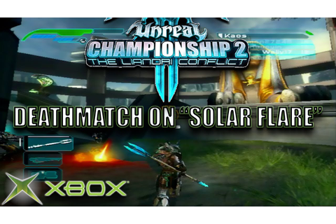 Unreal Championship 2: Free for All Deathmatch on Solar ...