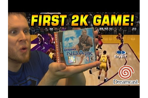 FIRST NBA 2K GAME! DREAMCAST THROWBACK! - YouTube