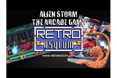 Alien Storm - The Arcade Game - YouTube