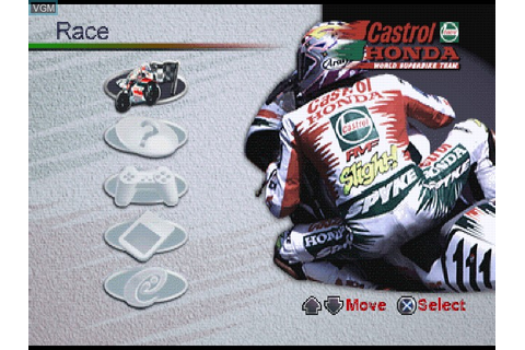 Castrol Honda VTR for Sony Playstation - The Video Games ...