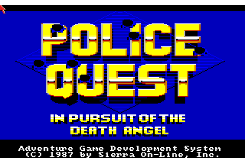 Police Quest: In Pursuit of the Death Angel (1987) by ...