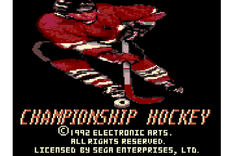 Championship Hockey Download Game | GameFabrique