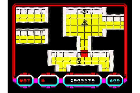 Escape from Colony 8 Walkthrough, ZX Spectrum - YouTube