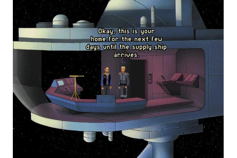 Orion Conspiracy, The Download (1995 Adventure Game)