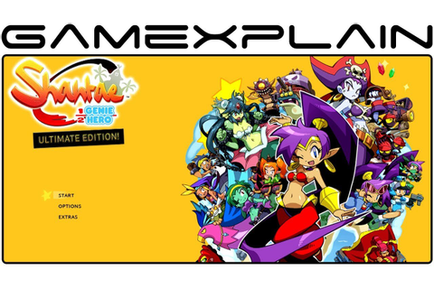 Shantae: Half-Genie Hero Ultimate Edition - Game & Watch ...